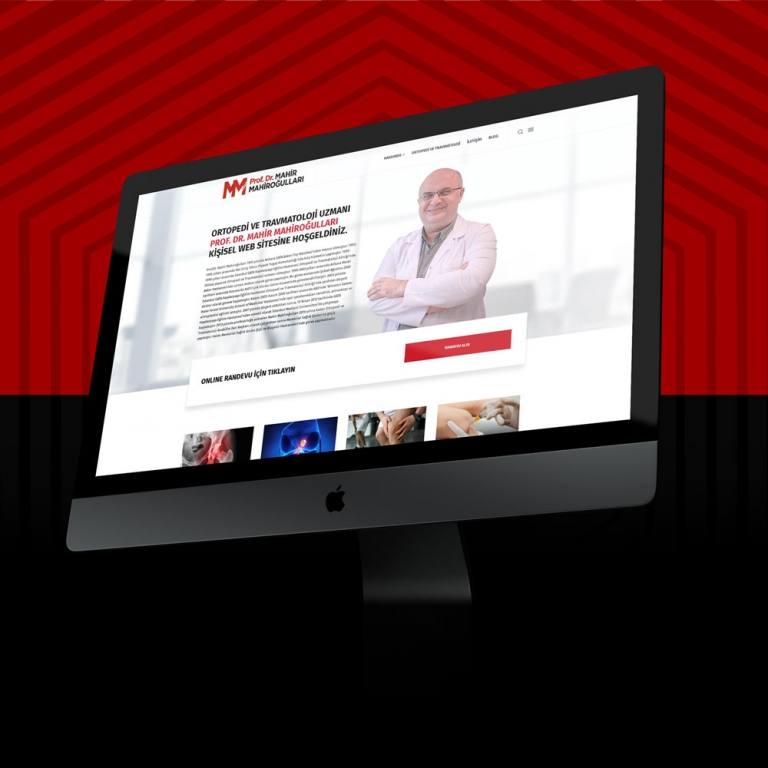 Prof.Dr.Mahir Mahiroğulları Web Design