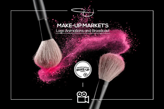 Makeup Markets – Logo Intro / Promotıon Video Project