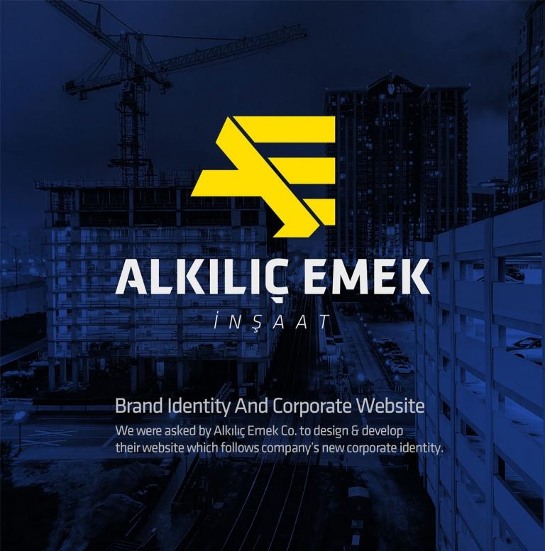 Alkılıç Emek İnşaat Brand Identity & Corporate Website