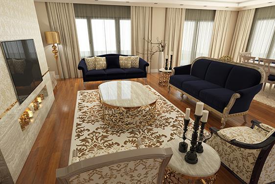 N. & M.E TRIPLEX VILLA – BAHCESEHIR / ISTANBUL