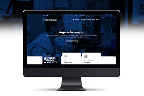 Nanortopedi.com Web Design 2018