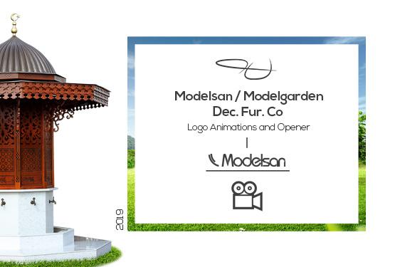 Modelsan Dec. Fur. Co. – Logo Intro Project  2019