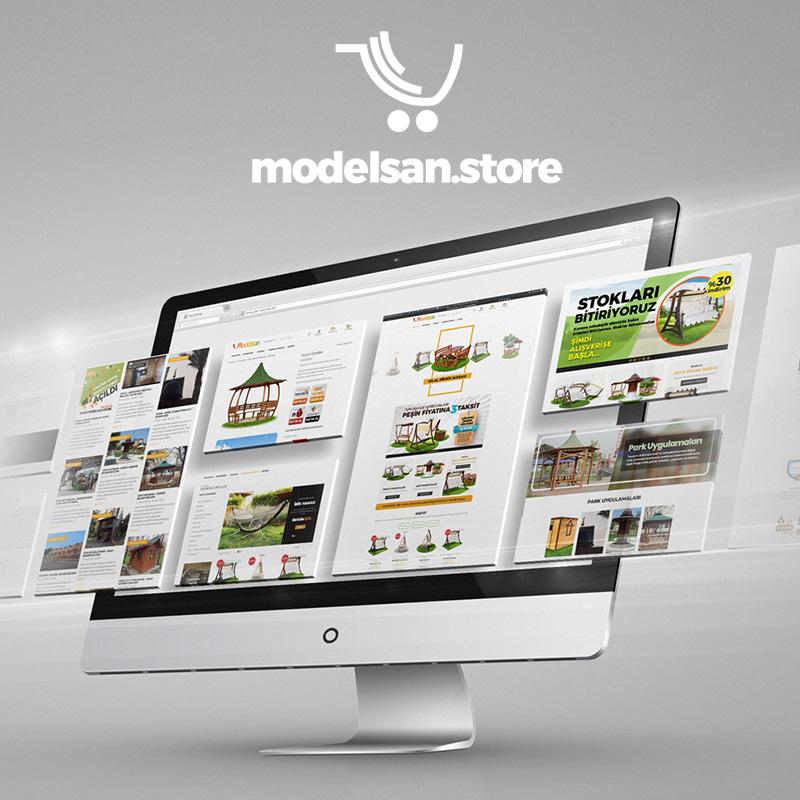 modelsan.store Branding E-Commerce