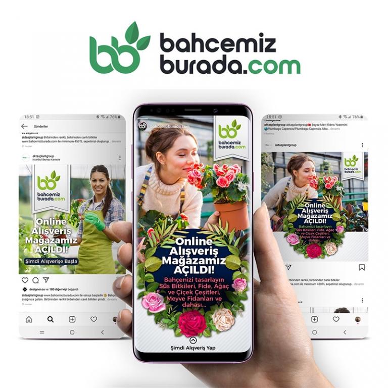 Bahcemizburada Branding & E-Commerce